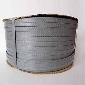 สายรัดพลาสติกสีเทา (Gray PP Strapping Band)