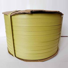 สายรัดพลาสติกสีเหลือง (Yellow PP Strapping Band)